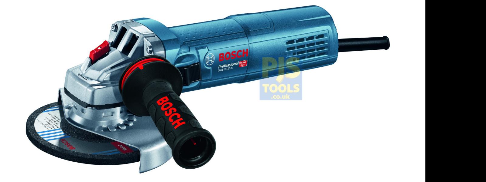Bosch GWS9-115S 240v 115mm 4.1 2in De 900w Amoladora de Ángulo opción de 3 Año De 2in Garantía 357d81