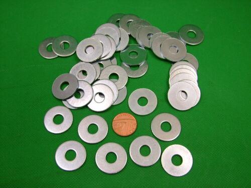 Medium Trou Pack 50 PENNY RÉPARATION GARDE-BOUE rondelles Moyen M8 x 25 mm Zinc Plaqué