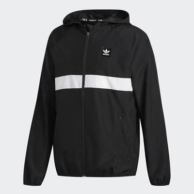 Details about Windbreaker adidas Dekum Packable Black Men