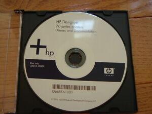 Original-Windows-StartUp-disk-for-HP-DesignJet-70-Printers-Drivers-Manuals-DVD