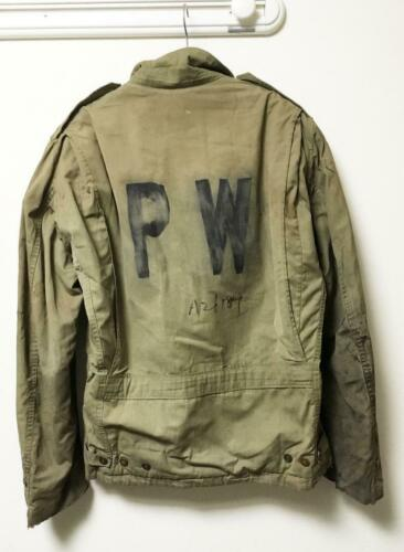 U.S.ARMY JACKET FIELD O.D Prisoner of War 1940s' v