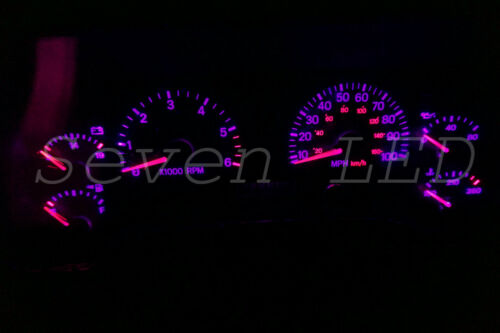 Jeep Wrangler TJ 97-06 Dash Instrument Cluster Speedometer LED Kit  Purple
