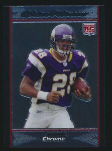 Details About Adrian Peterson 2007 Bowman Chrome Rookie Card Rc B Minnesota Vikings