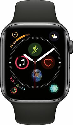Apple Watch Series 4 44mm Gps With Sport Band Ebay