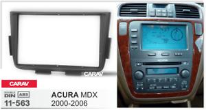 Car Stereo Fascia Dash Panel 2 Din Frame Trim Kit for ACURA MDX 2000-2006 11-563