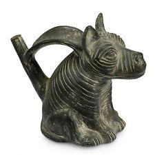 Replica Ceramic Vessel Sculpture 'Chimu Dog' Handmade Art NOVICA Peru