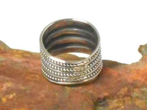 Chunky Sterling Silver 925 RING Gift Boxed