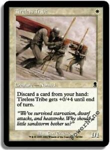 Rare Odyssey MTG Magic the Gathering NM 1x TIRELESS TRIBE