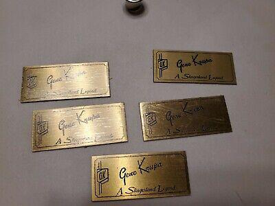 Slingerland Gene KRUPA Badges