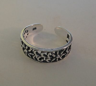 Sterling Silver Toe Ring QR623