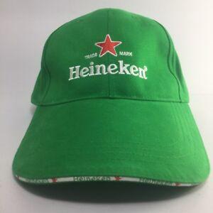 Image is loading Heineken-Beer-Green-Baseball-Cap-Hat -Embroidered-Adjustable- c2ed7f90b51