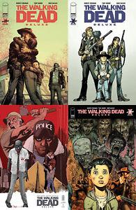 Walking-Dead-Deluxe-3-Cover-A-B-C-D-Set-NM-1st-Print-Image-Comics