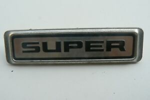 MORRIS-MARINA-SUPER-sigle-embleme-logo-insigne-monogramme-de-carrosserie-en-alu