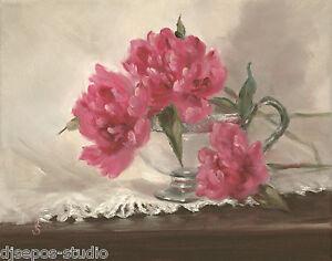 034-Monsieur-Jules-Elie-Peony-034-Debra-Sepos-original-oil-8-034-x-10-034-peonies-still-life