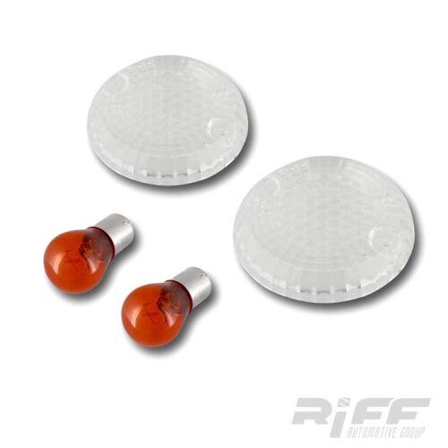 Blinker Gläser Suzuki LS650 P GSF250 GSF400 BANDIT weiss klar clear lenses
