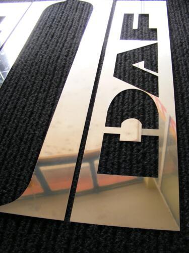 4 PSC Edelstahl Tür Sockel für DAF XF 95//105 Chrom Spiegel Dekorationen