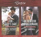 For Baby's Sake & an Heir for the Billionaire by Kat Cantrell, Janice Maynard (CD-Audio, 2016)