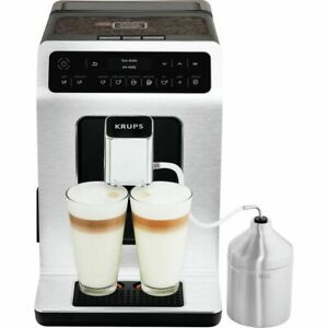 Krups Evidence EA891D27 Bean to Cup Coffee Machine - Stainless Steel / Black