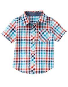 NWT Gymboree Boys JUNGLE TOUR sz 2T 3T 4T 3 pcs Zebra Tee Plaid Shirt /& Shorts