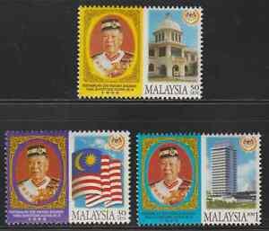 (242)MALAYSIA 1999 YANG DI-PERTUAN AGONG KING SET FRESH MNH