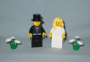 Image Is Loading NEW LEGO WEDDING BLONDE BRIDE AND GROOM WITH