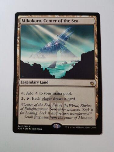 Center of the Sea Masters 25 Mikokoro Magic//mtg Rare