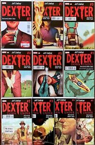 Dexter #1-5 & Dexter: Down Under #1-5 Complete Dexter Sets from Marvel (2013)