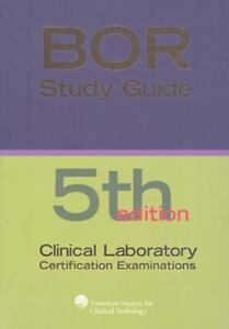 boc study guide for the clinical laboratory certification rh ebay com bor study guide 5th edition pdf bor study guide 5th edition pdf