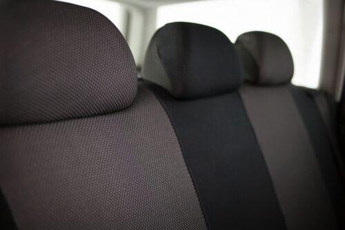Sitzbezüge Sitzbezug Schonbezüge für Mitsubishi Space Star Dunkel Sportline Set