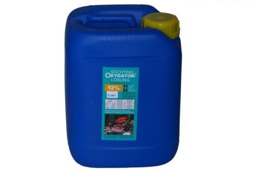 Söchting Oxydator-Lösung 12/% 5L Peroxyde Étang Hydrogène Peroxi 6,89 Eur // L