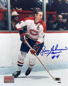 Autographed-Jean-Beliveau-8x10-Action-Photo-Montreal-Canadiens