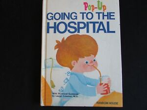 Vintage-POP-UP-BOOK-Going-To-The-Hospital-70-039-s-Children-039-s-Help-For-Surgery