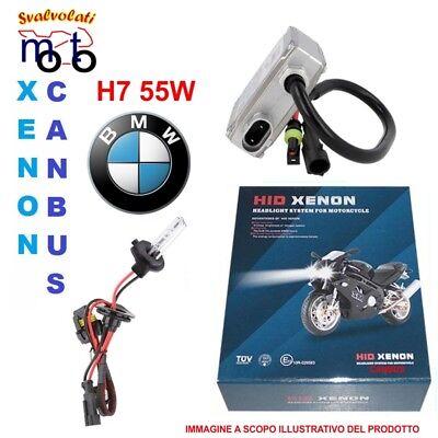 KIT XENON MOTO H7 6000K CANBUS SLIM ADATTO PER BMV S 1000 RR PER ABBAGLIANTE ANABBAGLIANTE XENON