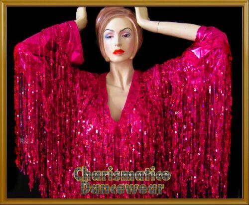 PINK THEATRE Fringe SEQUIN Drag Dance Costume DRESS