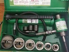 Greenlee 7506ss Stainless Steel 12 2 Slugsplitter Hydraulic Knockout Set