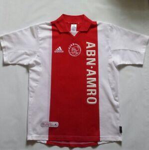 Vintage 2001 Ajax Amsterdam Adidas Clima Lite Jersey   eBay
