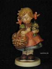 "Goebel Hummel 355 ""Herbstsegen"", autumn harvest, Mädchen mit Korb voll Äpfel"