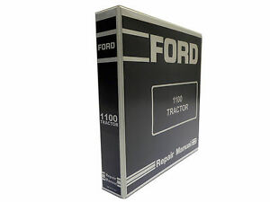 Details about Ford 1100 Tractor Factory Service Manual Repair Shop on
