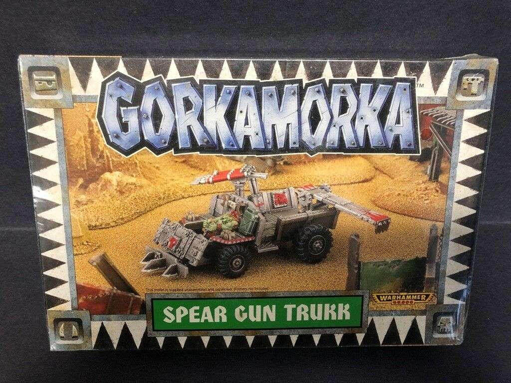 Games Workshop Warhammer 40K Gorkamorka Spear Gun Trukk NIB Factory Sealed
