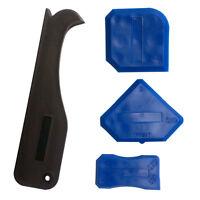 Portable Silicone Sealant Spreader Spatula Scraper Cement Caulk Removal Tool 4pc