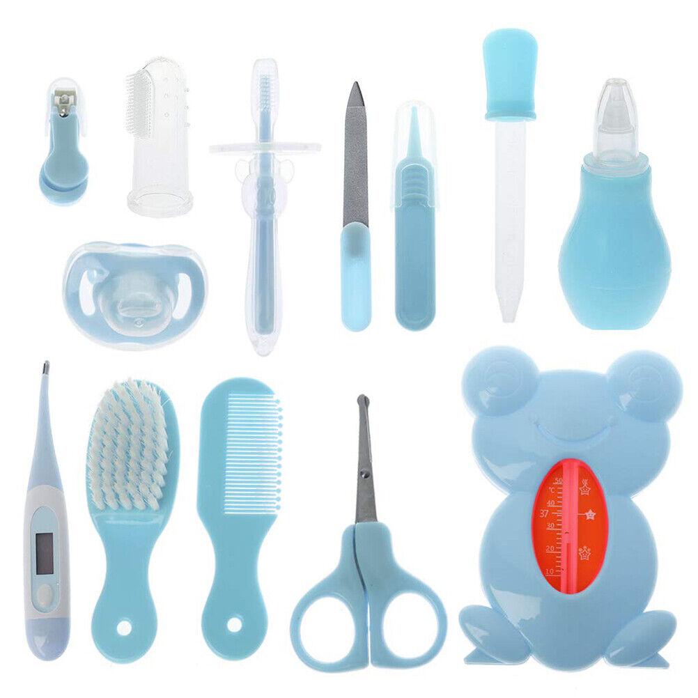 13pcs Baby Care Kit Baby Grooming  Nasal Aspirator Medicine Feeder Kit Baby Care