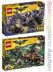Lego 2tlg Set The Batman Movie 70914 70915 La Gifttruck De Bane Malheur N6/17-afficher Le Titre D'origine