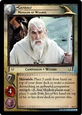 LoTR TCG RotK Return of The King Gandalf, Manager Of Wizards 7R37