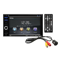 Boss Audio Double-din 6.2 Touchscreen Bluetooth Dvd Player & Monitor |bvb9364rc