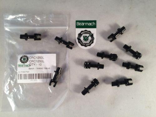 Land Rover Defender Bremsleitung Klemme X 10 Bearmach Qualität Teile Crc1250l
