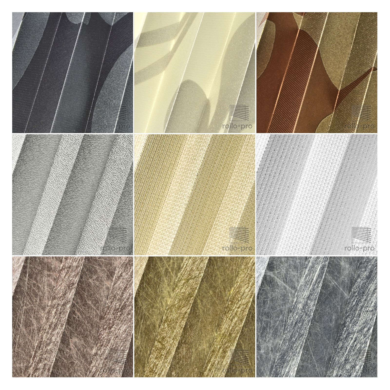 Plissee Plissee Plissee Faltrollo ohne Bohren Plisee nach Maß   METALLICO   Profil Mahagoni NEU   Fein Verarbeitet  d022d5
