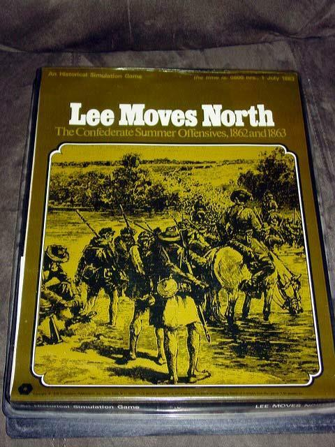 SPI 1972 - LEE MOVES NORTH gioco -   1862 & 1863 Campaigns - American Civil War  miglior prezzo