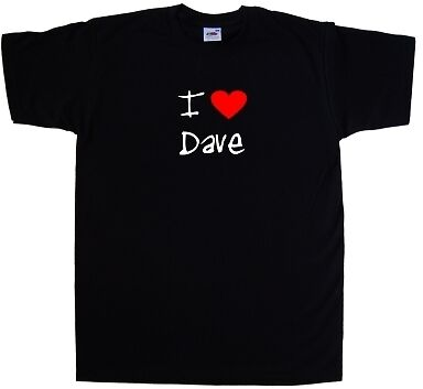 I Love Cuore Dave T-shirt