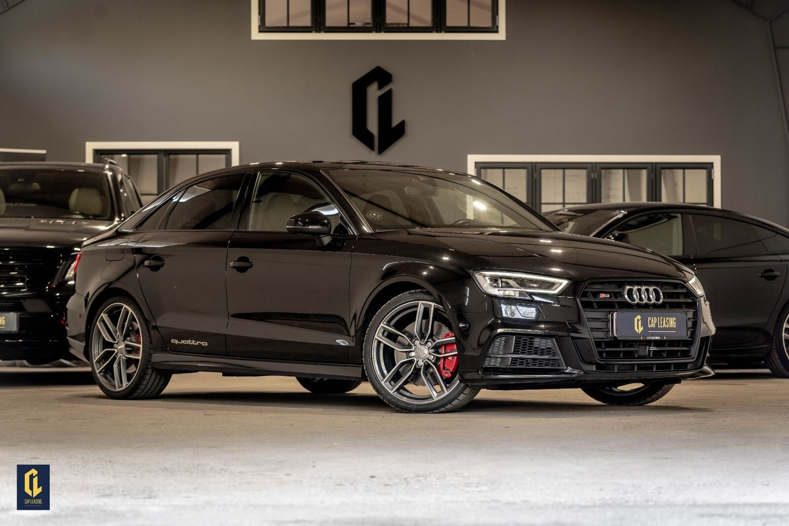 Audi S3 2,0 TFSi quattro S-tr. 4d