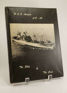 1957-1958-USS-Alstede-AF-48-Naval-Cruise-Book-Yearbook-US-NAVY